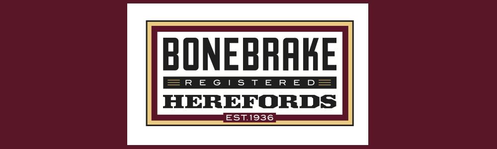 Bonebrake Herefords Banner